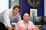 WB CEO Michael Wallach (r), Pres/COO David Beth (l)